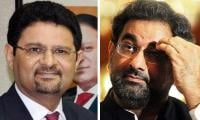 Khaqan Abbasi, Miftah Ismail put on ECL