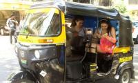 Sara Ali Khan takes an auto-rickshaw ride to gym, ditches car