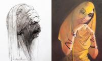 Into master artist Saeed Akhtar's ethereal world