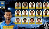 ICC World Cup 2019: Sri Lanka cricket squad, statistics, and fixtures