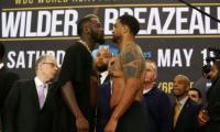 Breazeale heavier for Wilder showdown