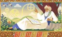 Google Doodle celebrates  971st birthday of Omar Khayyam