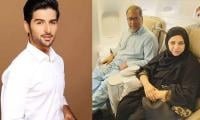 Muneeb Butt leaves his parents emotional, fulfilling their dream of performing Umrah