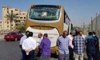 Blast hits Egypt tourist bus, 17 injured: security, medical sources