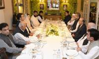 Opposition parties hold grand show at Bilawal's Iftar dinner