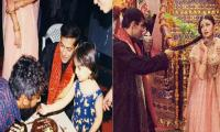 Did Salman Khan crop Aishwarya Rai out of his picture deliberately?