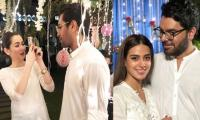 Hania Aamir, Iqra Aziz, Yasir Hussain and others gather for Nomi Ansari's grand iftar