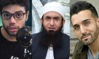 Maulana Tariq Jameel urges Sham Idrees, Ducky Bhai, Zaid Ali to make peace