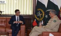 Chinese Ambassador calls on COAS General Bajwa