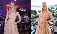 Elle Fanning passes out at Cannes Film Festival, sister Dakota Fanning rushes to help