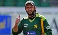 Shahid Afridi satisfied with selection of Pakistan's World Cup squad