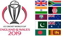 ICC Cricket World Cup 2019:  SCHEDULE