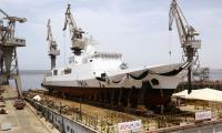 Launching ceremony of Maritime Patrol Vessel held at Karachi shipyard