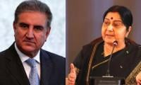 Pakistani FM Qureshi, India's Sushma Swaraj sit next to each other in SCO meeting