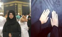 Pakistani actress Noor Khan offers glimpse of her spiritual journey in Makkah