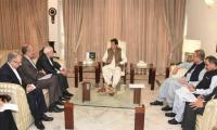 Iranian FM Zarif meets PM Imran Khan