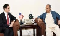 US Ambassador Paul Jones meets Dr Abdul Hafeez Shaikh