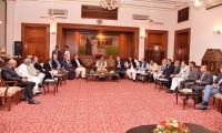 PM Imran seeks business community role in poverty alleviation