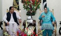 Firdous Ashiq Awan meets CM Punjab Usman Buzdar