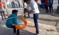Video: Hindu extremists thrash three Muslims including woman over beef rumour in India