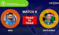 India vs South Africa Head to head: ICC World Cup 2019