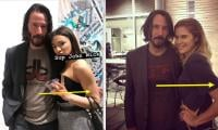 Keanu Reeves lauded for keeping his hands off female fans while taking pictures