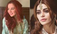 Hania Amir's ethereal look in traditional wear attracts Sadaf Kanwal, others