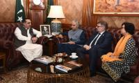 UNAIDS delegation briefs Sindh Governor of causes of HIV outbreak in Ratodero, Larkana