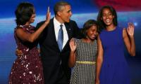 Obama family begins holiday in southern France