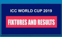ICC World Cup 2019: Fixtures & Results