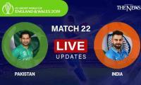 Pakistan vs India Live updates: ICC Cricket World Cup 2019