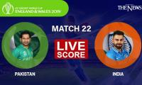 Pakistan vs India Live score: ICC Cricket World Cup 2019