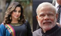 Tanushree Dutta attacks Modi, questions where is the 'corruption-free India'