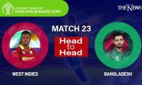 Bangladesh vs West Indies Head to Head: ICC World Cup 2019