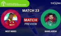 Bangladesh Vs West Indies Preview, World Cup 2019 Match 23, Weather Report, Match Details