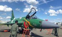 Pakistan's JF-17 Thunder gives spectacular performance at Paris Air Show