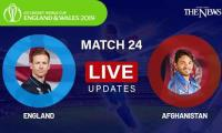 England vs Afghanistan live updates: ICC World Cup 2019