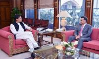 New DG ISI Lt-Gen. Faiz Hameed calls on PM Imran
