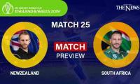 New Zealand v South Africa Preview, World Cup 2019 Match 25, Weather Report, Pitch Report, Match Details