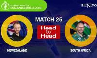 New Zealand vs South Africa Head to Head: ICC World Cup 2019