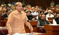 Shehbaz Sharif flays govt during NA budget discussion