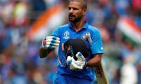 India's Shikhar Dhawan ruled out of World Cup 2019