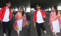 Sara Ali Khan, Kartik Aaryan are all smiles in new photos together