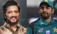 Indian actor Ritesh Deshmukh voices support for Sarfraz Ahmed