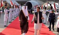 Emir of Qatar accorded red carpet welcome in Pakistan