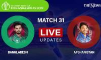 Bangladesh vs Afghanistan Live updates: ICC World Cup 2019
