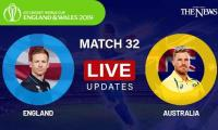 England vs Australia, Live Score: ICC World Cup 2019
