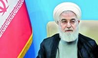 Iran 'never seeks war' with US, says Rouhani