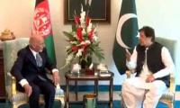 PM Imran, President Ghani stress bilateral cooperation in trade, security for peace