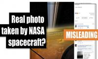 Fact-check: Is this a photo of spacecraft captured by NASA?